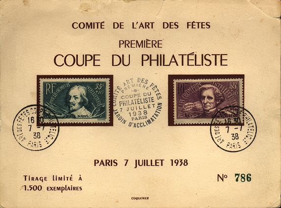 Coupe du philatéliste